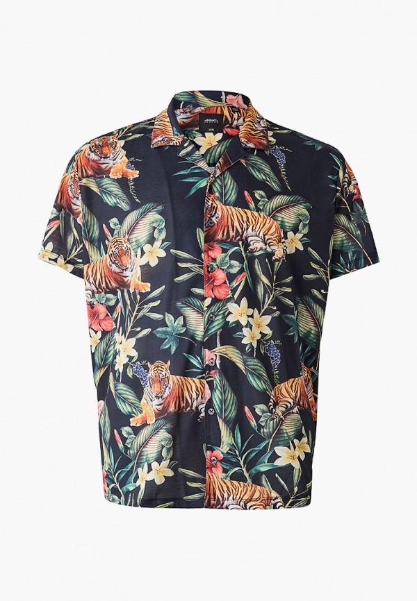 Фото - мужскую рубашку Burton Menswear London синего цвета