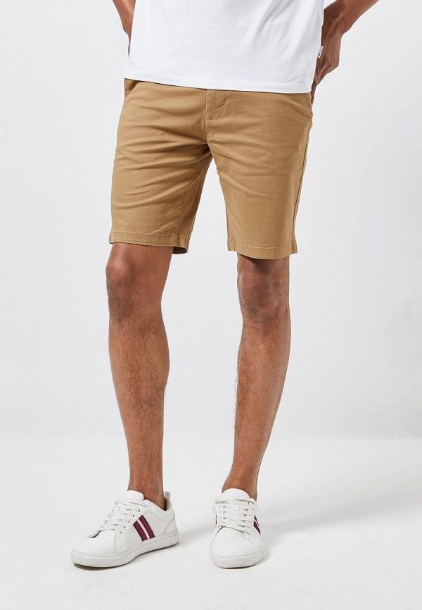 мужские повседневные шорты burton menswear london, коричневые
