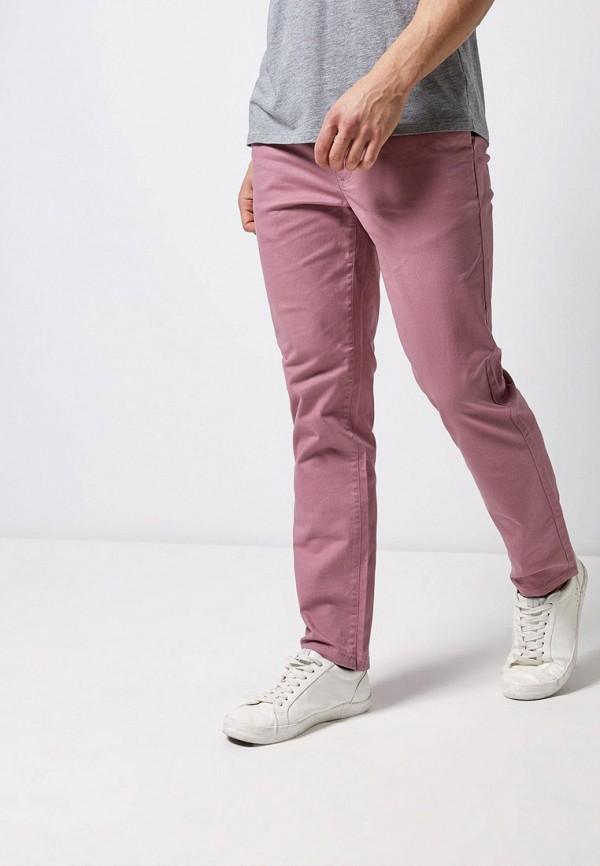 мужские повседневные брюки burton menswear london, розовые