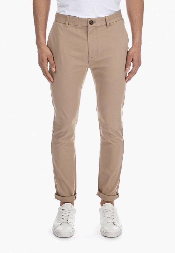 мужские повседневные брюки burton menswear london, бежевые
