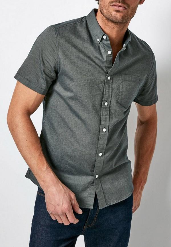 мужская рубашка с коротким рукавом burton menswear london, хаки