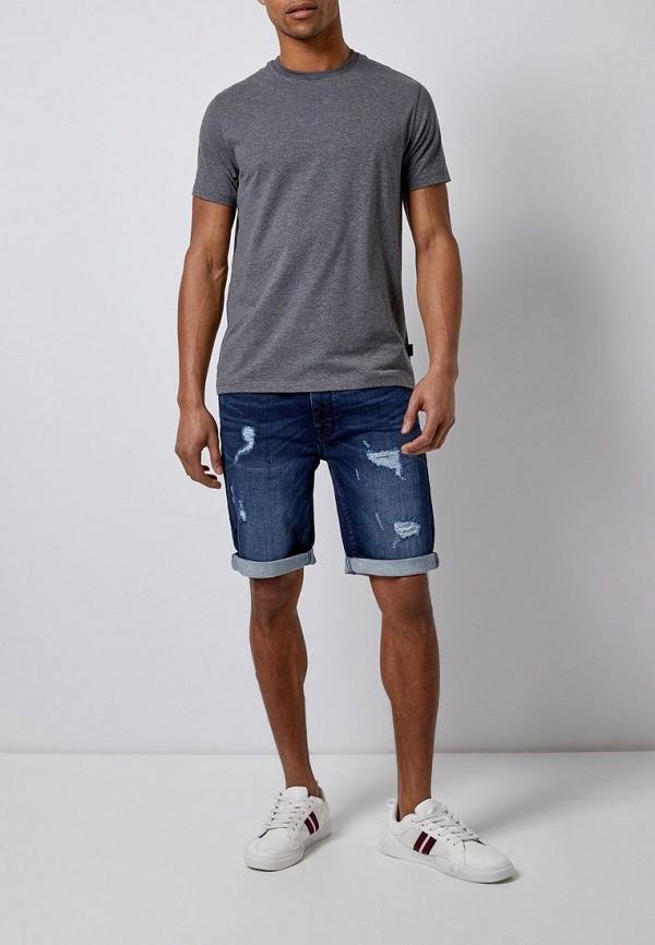 Фото 2 - Шорты джинсовые Burton Menswear London синего цвета