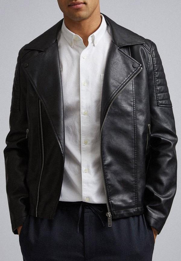 цена Куртка кожаная Burton Menswear London Burton Menswear London BU014EMGAIG1 онлайн в 2017 году