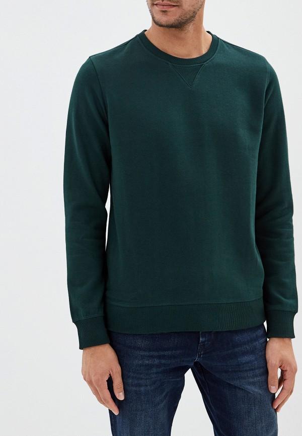 мужской свитшот burton menswear london, зеленый