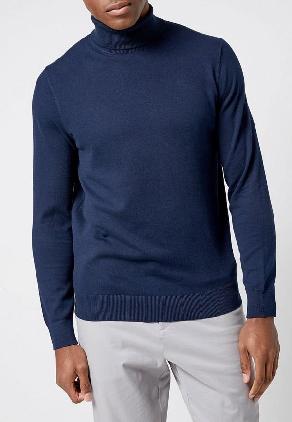 мужская водолазка burton menswear london, синяя