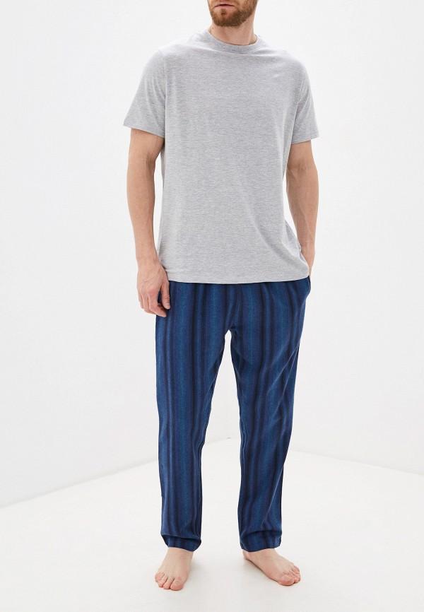 мужская пижама burton menswear london, разноцветная