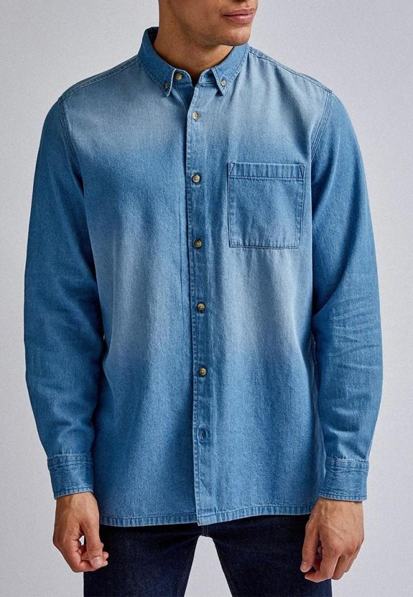 Рубашка джинсовая Burton Menswear London Burton Menswear London BU014EMGSWR4 рубашка burton menswear london burton menswear london bu014emesuw5
