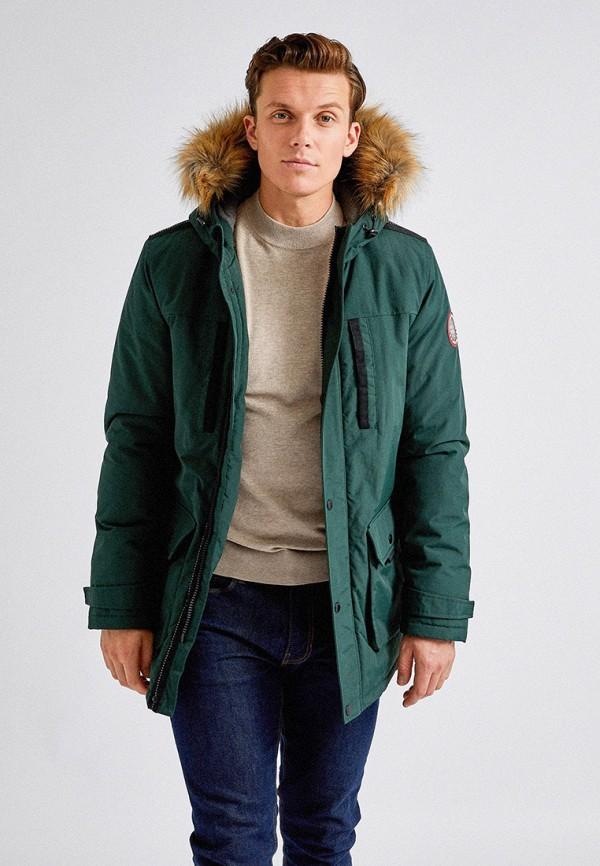 мужская куртка burton menswear london, зеленая