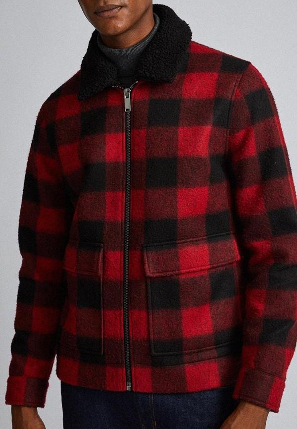 мужская куртка burton menswear london, розовая