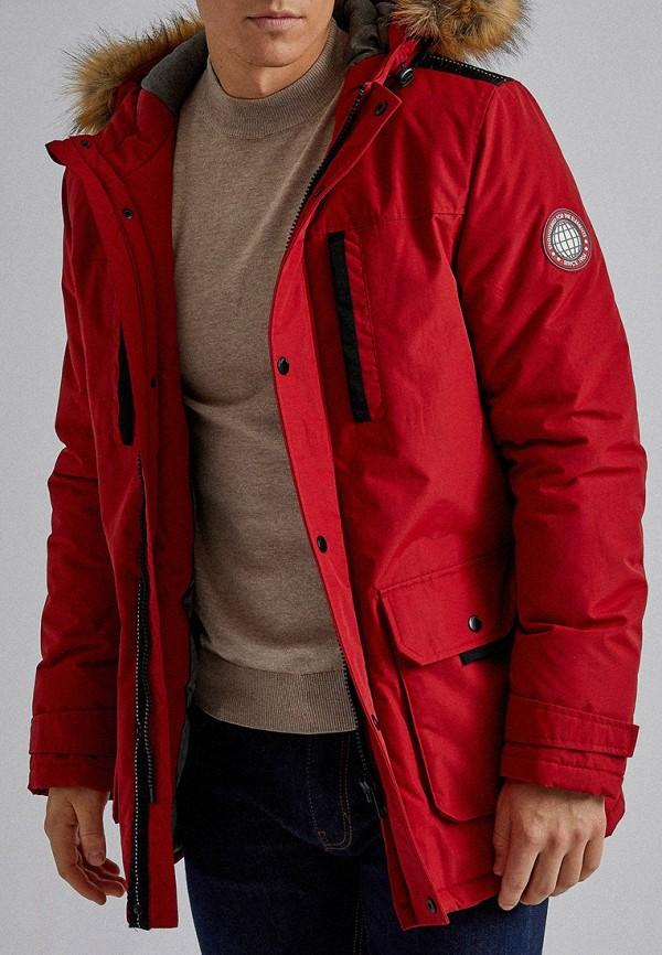 мужская парка burton menswear london, красная