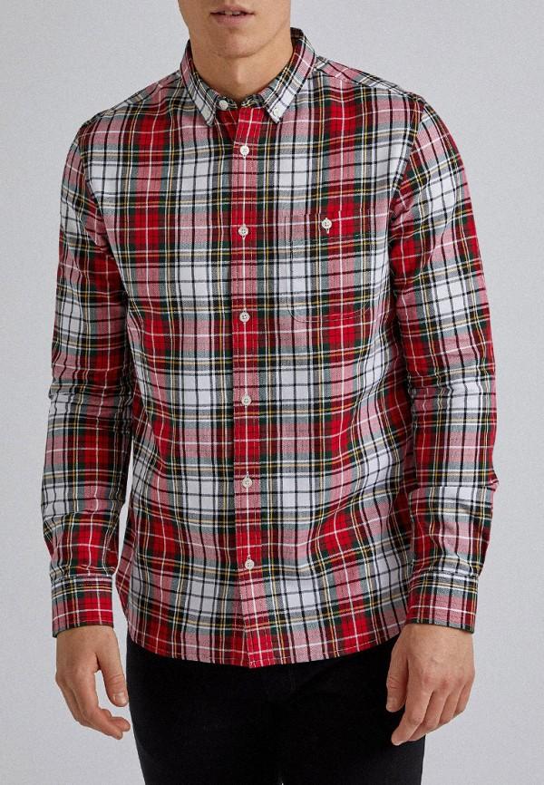 мужская рубашка с длинным рукавом burton menswear london, разноцветная