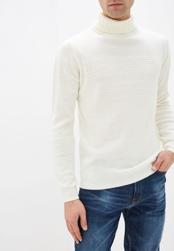 мужская водолазка burton menswear london, белая