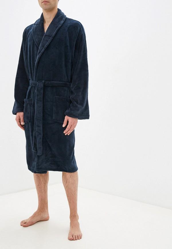 мужской халат burton menswear london, синий