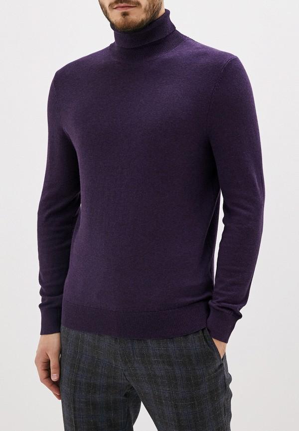 мужская водолазка burton menswear london, фиолетовая