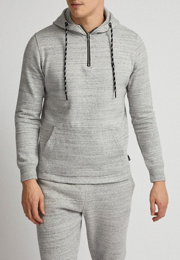 мужские худи burton menswear london, серые