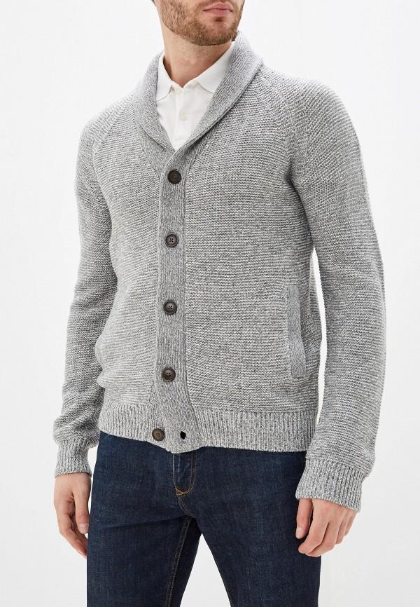 мужской кардиган burton menswear london, серый