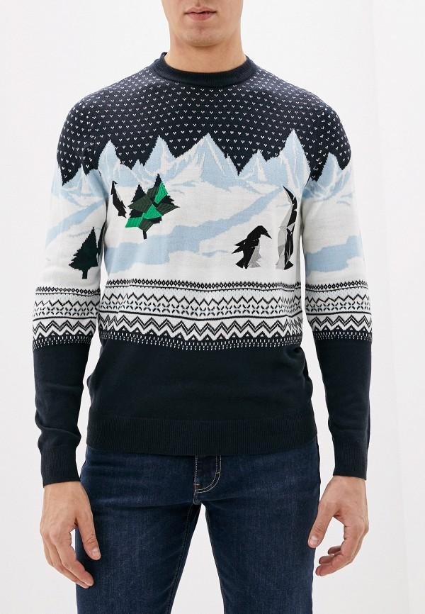 мужской джемпер burton menswear london, разноцветный