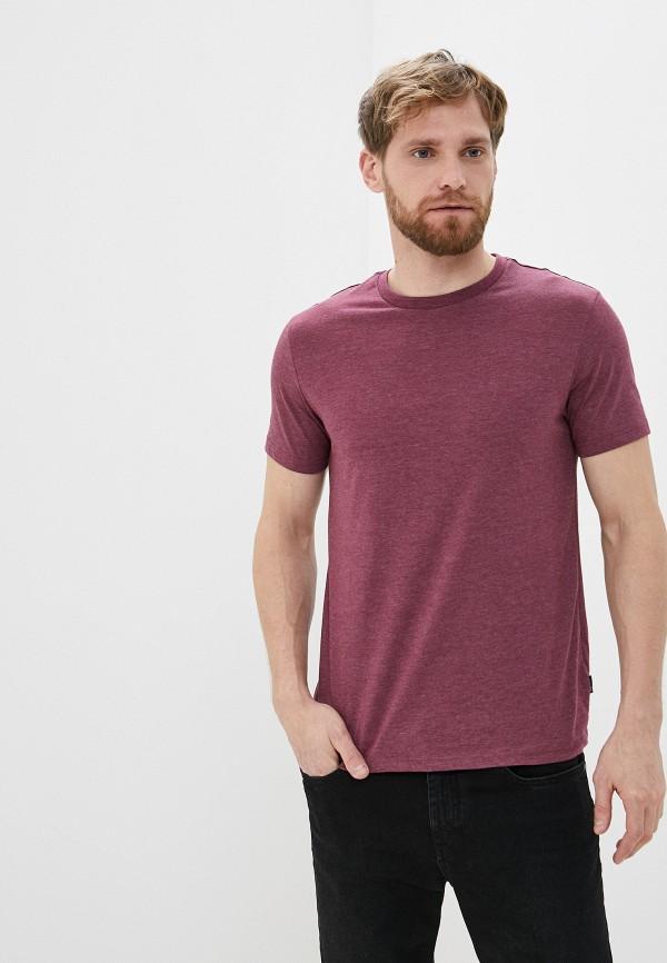 мужская футболка с коротким рукавом burton menswear london, розовая