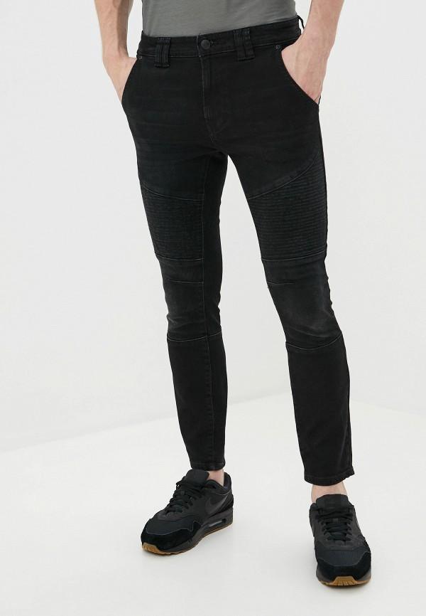 мужские зауженные джинсы burton menswear london, черные