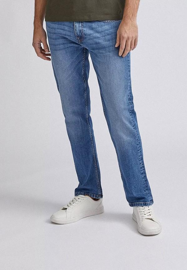 мужские прямые джинсы burton menswear london, голубые