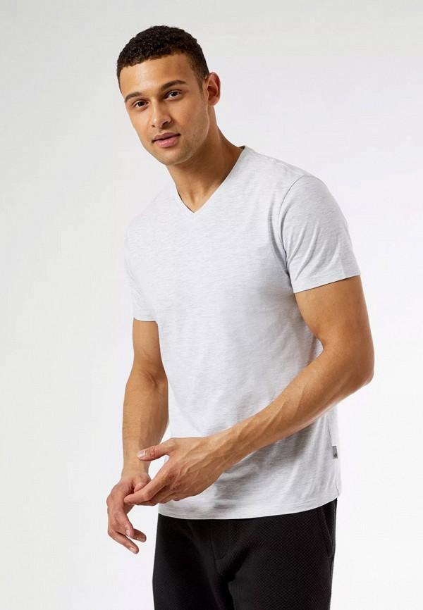 мужская футболка с коротким рукавом burton menswear london, серая
