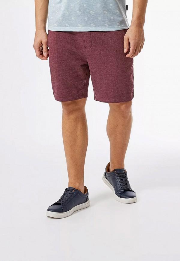 мужские повседневные шорты burton menswear london, бордовые