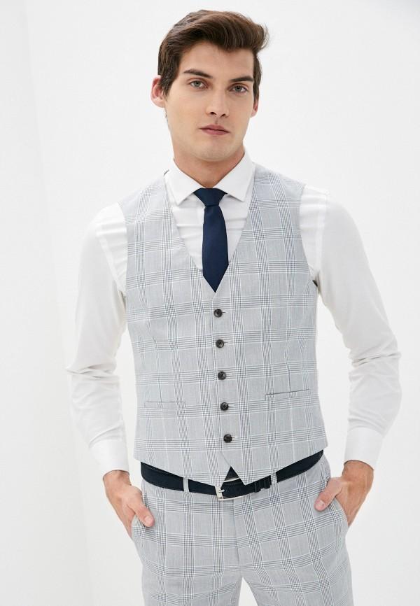 мужской жилет burton menswear london, серый