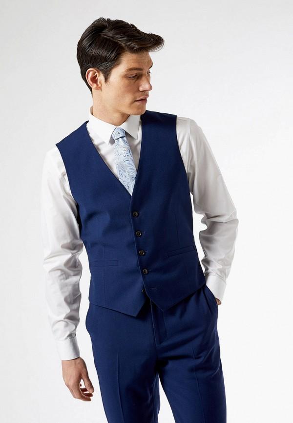 мужской жилет burton menswear london, синий