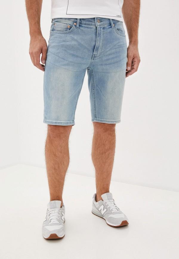 мужские джинсовые шорты burton menswear london, синие
