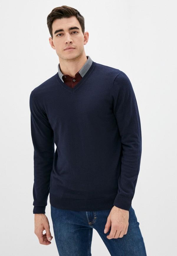 мужской пуловер burton menswear london, синий