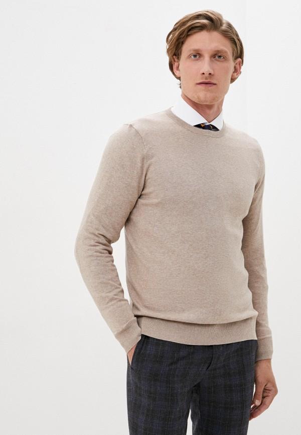 мужской джемпер burton menswear london, бежевый