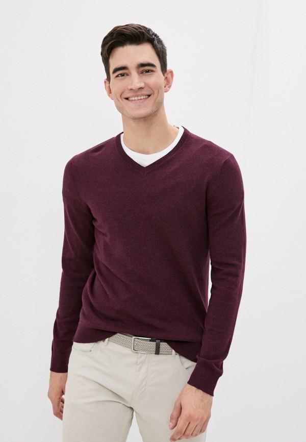 мужской пуловер burton menswear london, бордовый