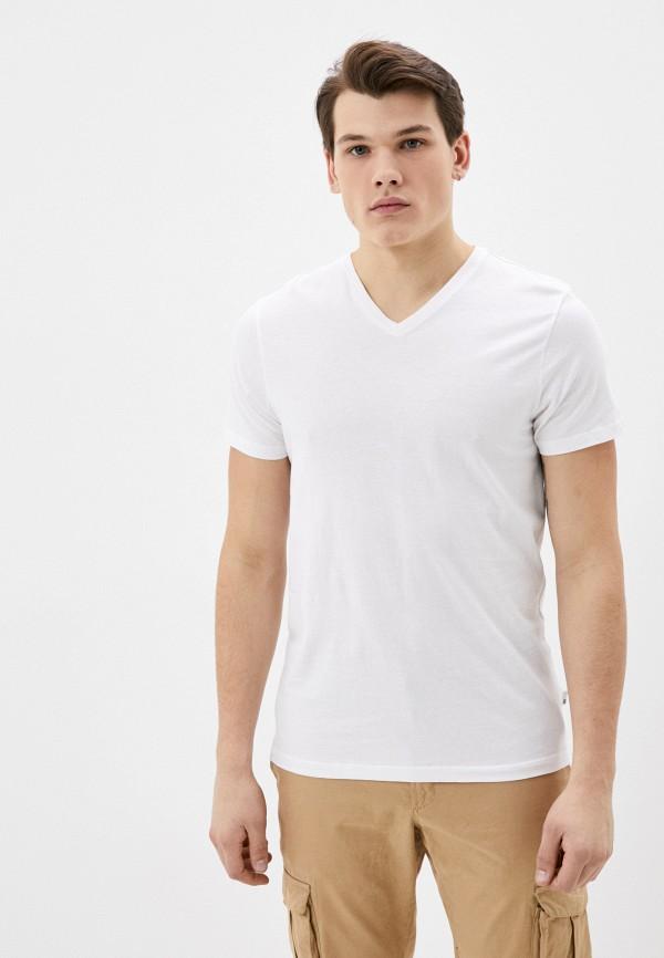 мужская футболка с коротким рукавом burton menswear london, белая