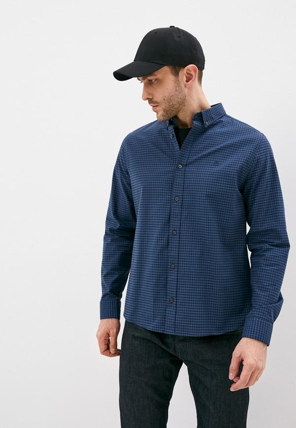 мужская рубашка burton menswear london, голубая