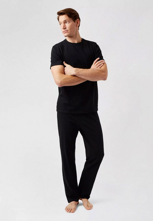 мужская пижама burton menswear london, черная