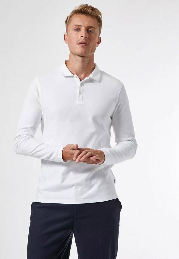 мужское поло burton menswear london, белое