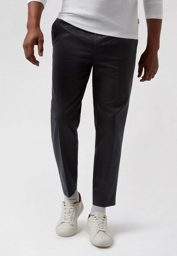 мужские зауженные брюки burton menswear london, черные