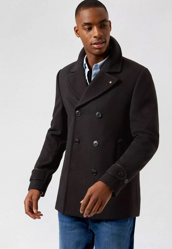 мужское пальто burton menswear london, черное