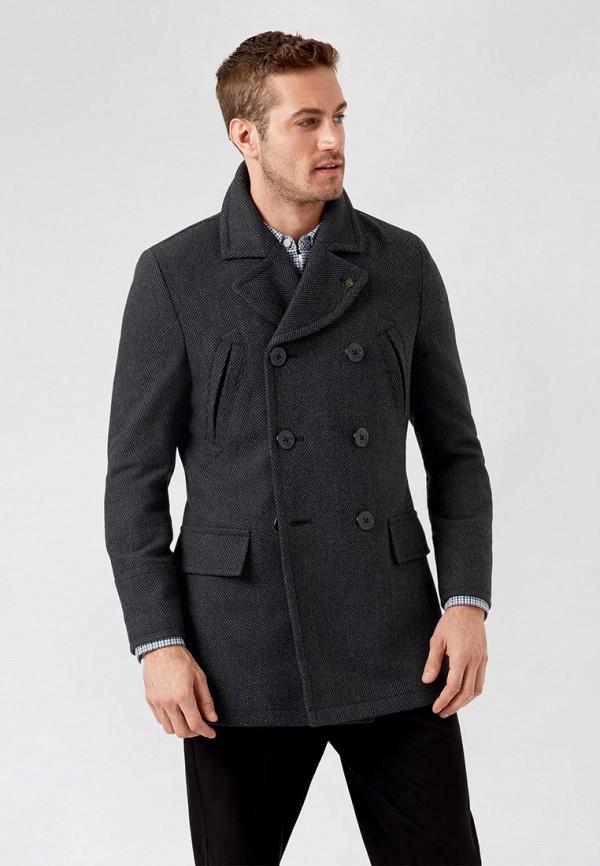 мужское пальто burton menswear london, серое