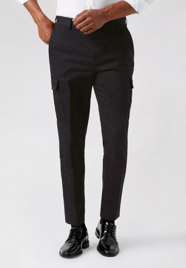 мужские брюки burton menswear london, черные