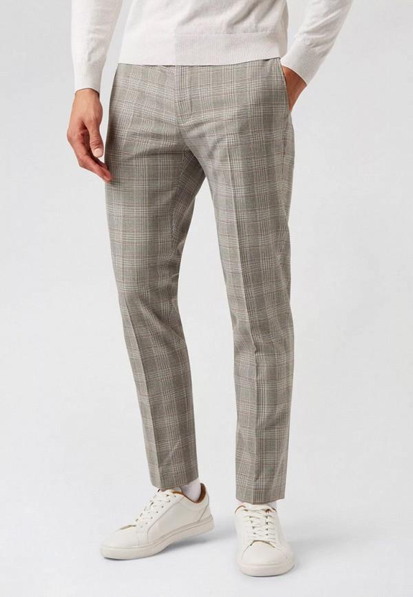 мужские классические брюки burton menswear london, бежевые