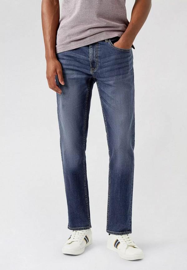 мужские прямые джинсы burton menswear london, синие