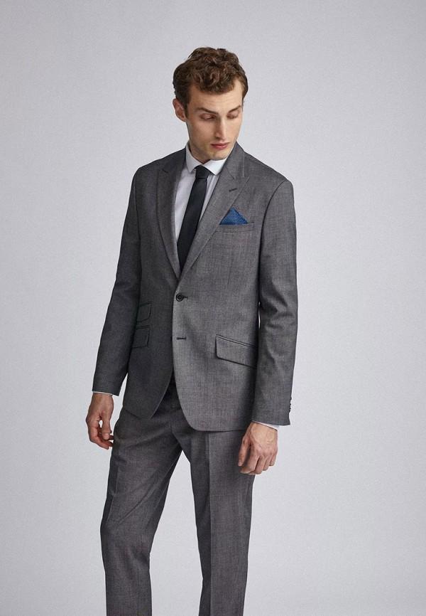 мужской пиджак burton menswear london, серый