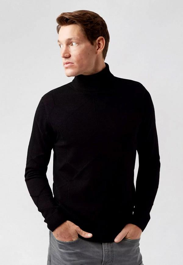 мужская водолазка burton menswear london, черная
