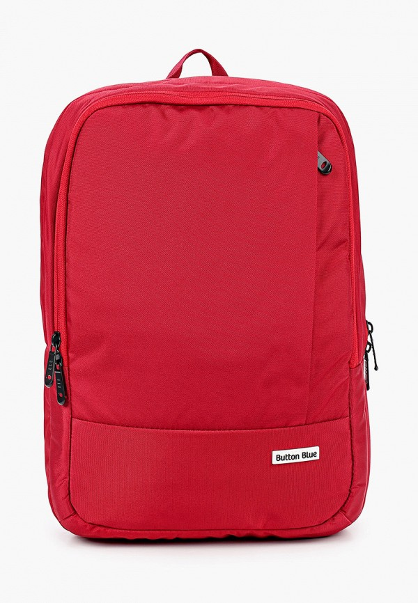 рюкзак button blue для девочки, бордовый