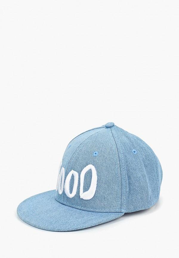 бейсболка button blue для мальчика, голубая
