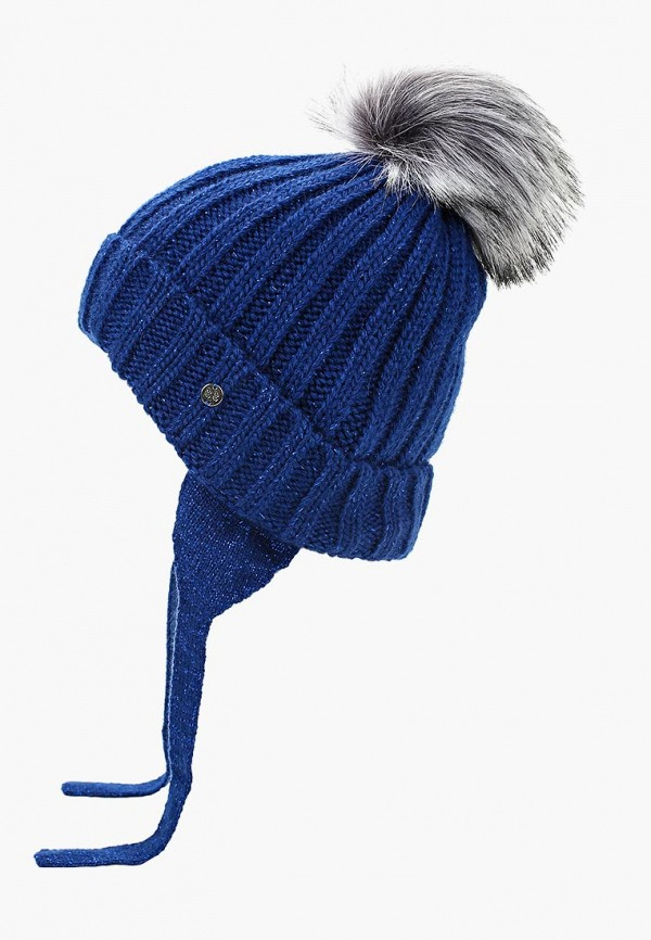 Купить Шапка Button Blue, BU019CGCRRQ4, синий, Осень-зима 2018/2019