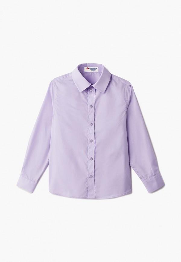 Купить Рубашка Button Blue, bu019ebbqeq5, фиолетовый, Осень-зима 2018/2019