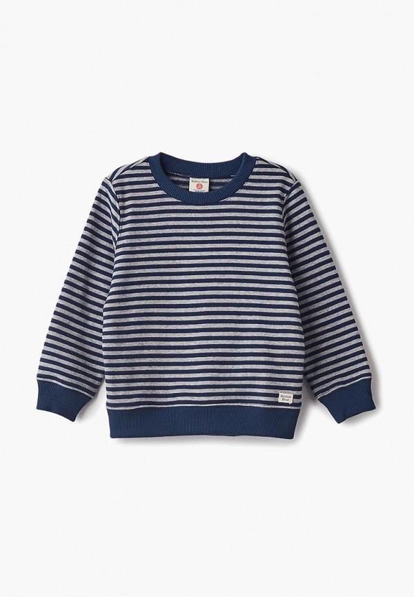 Купить Свитшот Button Blue, BU019EBCRRZ2, синий, Осень-зима 2018/2019