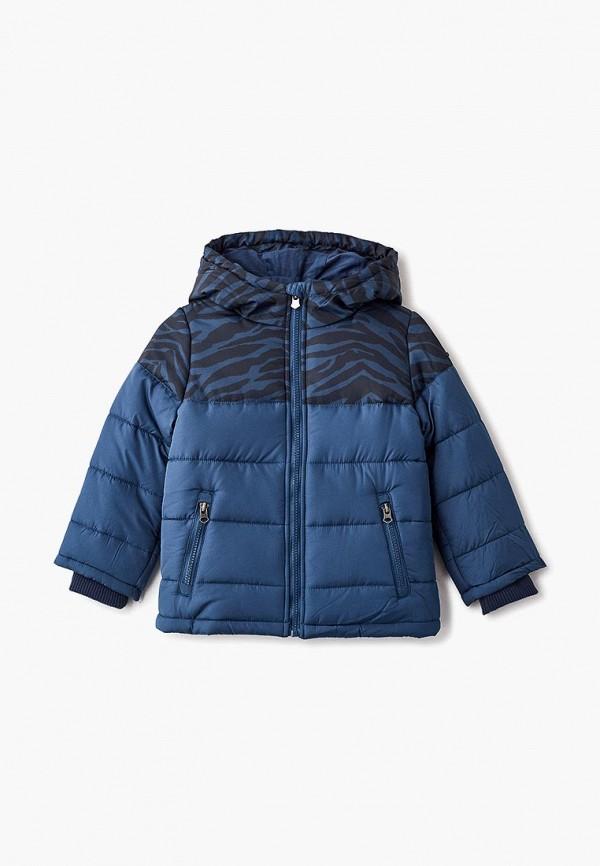 Купить Куртка утепленная Button Blue, bu019ebcrsa8, синий, Осень-зима 2018/2019